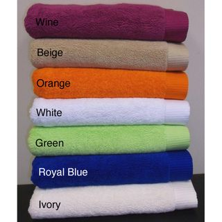 Turkish Combed Cotton 2 piece Bath Towel Set