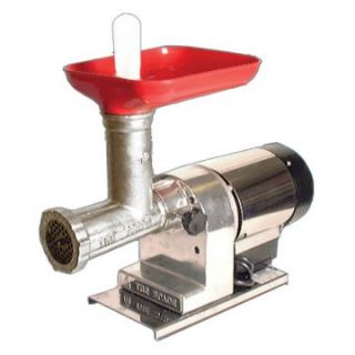 Omcan 12EL Commercial Electric Meat Grinder   Meat Grinders at