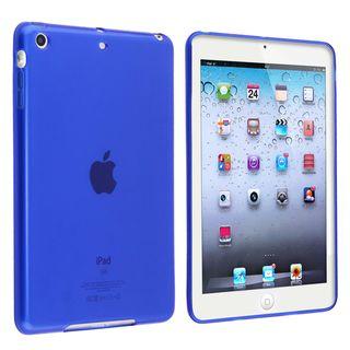 BasAcc Clear Blue TPU Rubber Case for Apple iPad Mini