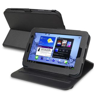 BasAcc Black Swivel Case for Samsung Galaxy Tab 2 7 inch P3100/ P3113