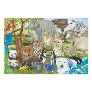 Melissa and Doug Endangered Species Puzzle   Floor Puzzles at