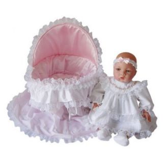 Lisa with Soft Basket Set   18 inch Doll   Baby Dolls