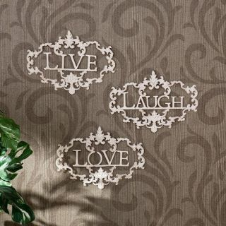 Live, Laugh, Love Wall Art