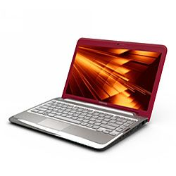 Toshiba Satellite T235 S1350 13.3 inch Red Laptop