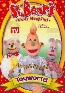 St. Bear`s Dolls Hospital   Toyworld (DVD)