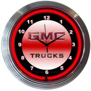 Neonetics GMC Truck Neon Clock   Clocks