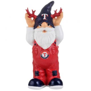 Texas Rangers 11 inch Thematic Garden Gnome