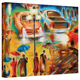 Susi Franco In Italy Even Rain is Beautiful Gallery Wrapped Canvas