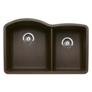 Blanco Diamond 1 and 3/4 Bowl Silgranit II Undermount Kitchen Sink