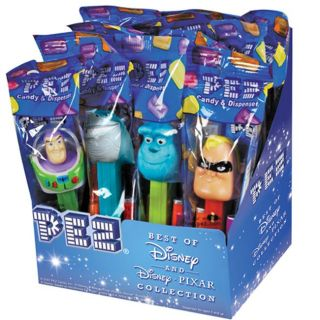 Pez Disney Best of Pixar Candy Dispenser and Candy Rolls