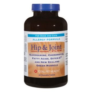 Total Pet Health Hypo Hip/Joint Plus Tabs   60 Count   Dog Bone