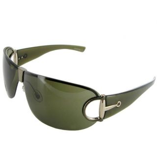 Gucci 2746 Olive Green Frame/ Brown Lens Sunglasses