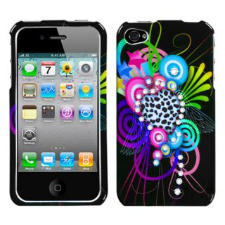 Premium Apple iPhone 4/4S Love Leopard Design Protector Case