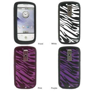 HTC G2/ myTouch Zebra Design Silicone Skin Case