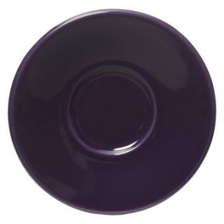Fiesta Plum Jumbo Saucer 6.75 in.   Set of 4   Coffee Mugs & Tea Cups