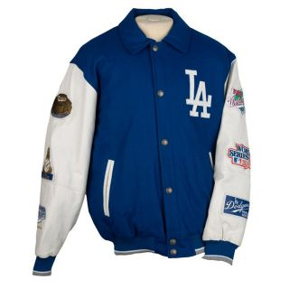Los Angeles Dodgers Five time World Series Champions Varsity Jacket