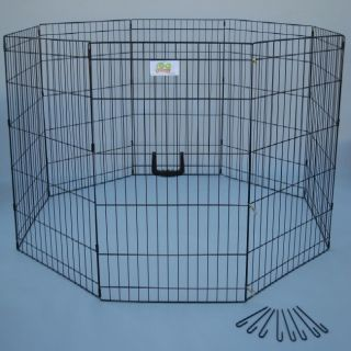 Go Pet Club 24 inch Pet Exercise Play Pen