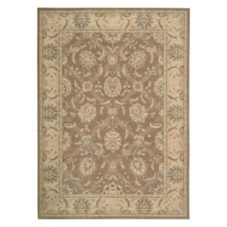 Nourison PE22 Persian Empire Area Rug   Mocha   Area Rugs