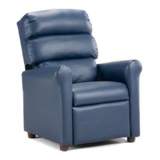 Brazil Furniture Waterfall Back Child Recliner   Kids Recliners at