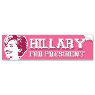 Hillary 2016 Bumper Stickers, Hillary 2016 Bumper Sticker Designs