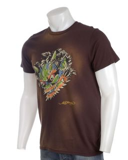 Ed Hardy Mens Demon Face Tee Shirt