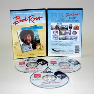 Weber Bob Ross Joy of Painting 13 show DVD