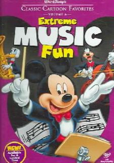 Walt Disneys Classic Cartoon Favorites Vol. 6: Extreme Music Fun (DVD
