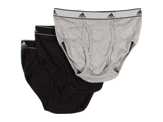 adidas Athletic Comfort ClimaLite® COTTON 3 Pack Low Rise Brief $20