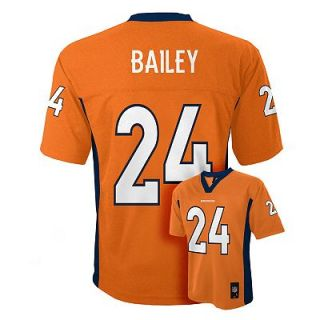 Denver Broncos Champ Bailey Jersey   Boys 8 20