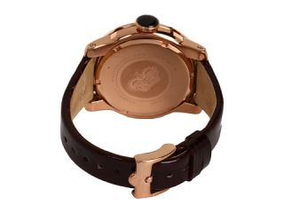 Glam Rock SoBe 44mm Rose Gold Plated Watch with Patent Strap  GR32052