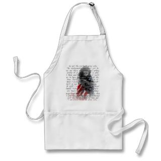 Army wife poem apron