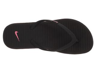 Nike Kids Solarsoft Thong 2 (Toddler/Youth) Black/Digital Pink