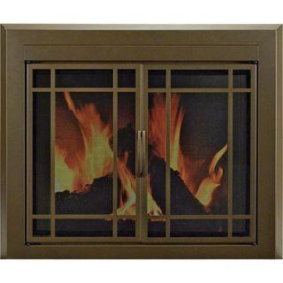 heatilator fireplace glass doors on popscreen