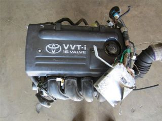Toyota Corolla Matrix 1 8L 1ZZ FE VVTi Engine 16 Valve Celica 1ZZ FE