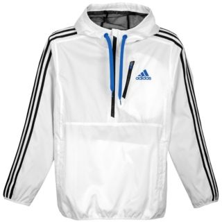 adidas Ultimate Woven Half Zip Hoodie   Mens   Training   Clothing