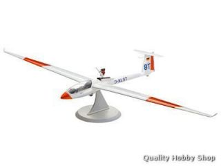 Revell 1 32 Scale Glider LS 8T Engine Skill 3 Plastic Model Kit 4273