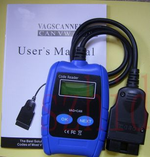 VAG SCANNER ENGINE AIRBAG ABS OBD CODE READER VW AUDI SKODA SEAT