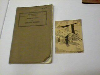 1940 Air Corp Aircraft Engine Tech Manual War Dept TM 1 405 repair