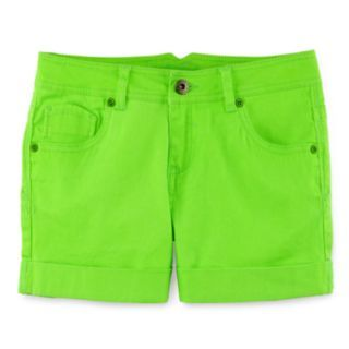 Total Girl® Neon Shorts   Girls 7 16