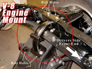 1963 72 Chevy Truck and GMC Truck Tubular V 8 Engine Mount Kit