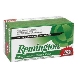Remington L9MM1B UMC Ammunition 9mm Luger Caliber 100 Round Value Pack