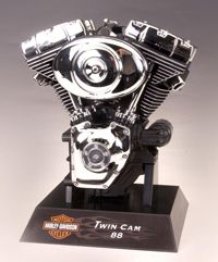 Testors 1 4 Harley Twin Cam 88 Engine Model Kit TE 457 Last Piece