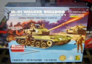 Revell Model Kit 7814 Renwal 1 32 Scale M 41 Walker Bulldog gms