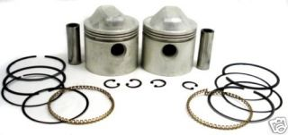 Harley XL1000 Sportster Engine Motor Piston Kit 3 3 16