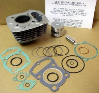 Honda ATV TRX 125 Fourtrax Engine Motor Top Rebuild Kit