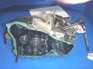 Honda CR 125 Engine Bottom End Cases Transmission