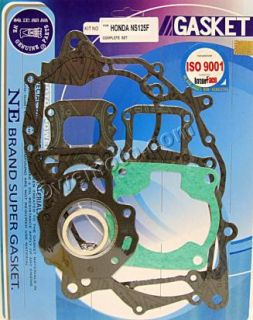 Honda NS 125 RH RK RL 1988 1993 Full Gasket Set