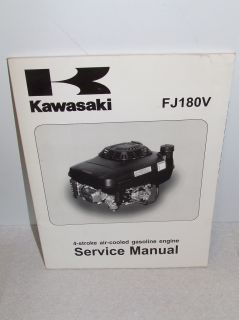 Kawasaki FJ180V Gas Engine Manual