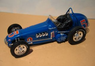 This auction features the Econo Car Racing Dirt Champ Race Car driven