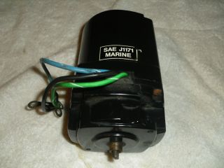 Mercury Mericruiser Oildyne Power Tirm Pump Electric Motor 891736T